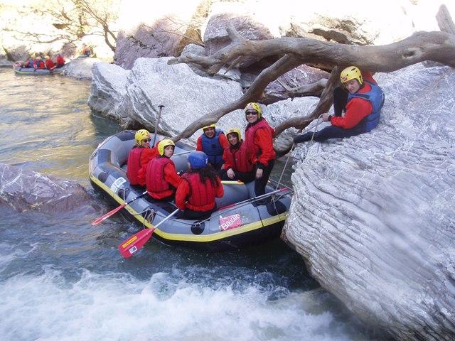 Rafting στον Λούσιο 2006