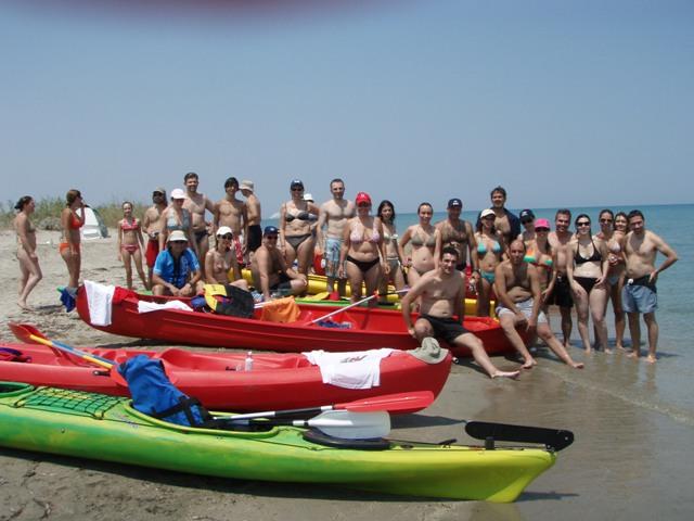 Kayak στον Πηνειό 2007